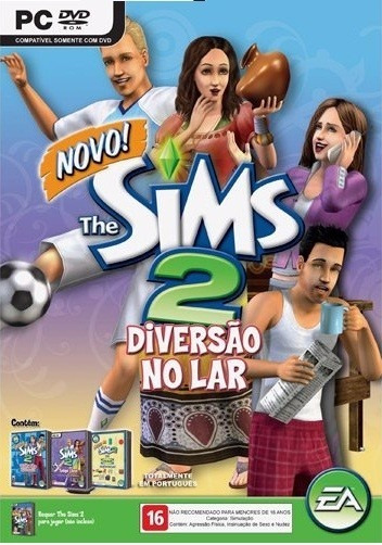 The Sims 2 Vida De Apartamento+ 2 Jogos Originais Pc Dvd