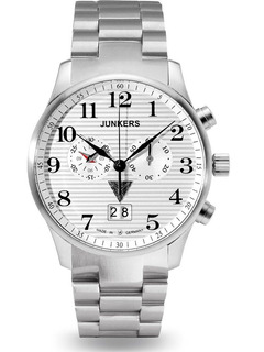 Reloj Junkers Para Hombre 6686m-1 Iron Annie Ju 52, 42mm