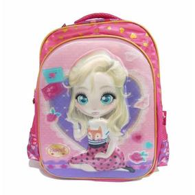 Mochila Infantil Sweet Girl Poliester 16 Sgm700505 / Un