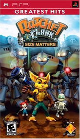 Ratchet And Clank Size Matters - Psp Semi Novo
