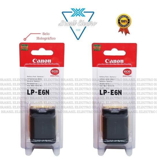 Kit 2 Baterias Canon Lp-e6n 5d2 7d 7d2 6d 70d 60d 80d