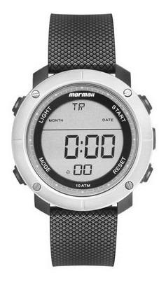 Imagem 1 de 5 de Relógio Digital Mormaii Wave Prata Mo0700ab/8c