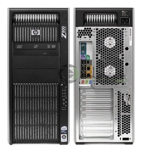 Workstation Hp Z800 Xeon Sixcore 12gb Sem Vga Sem Hd