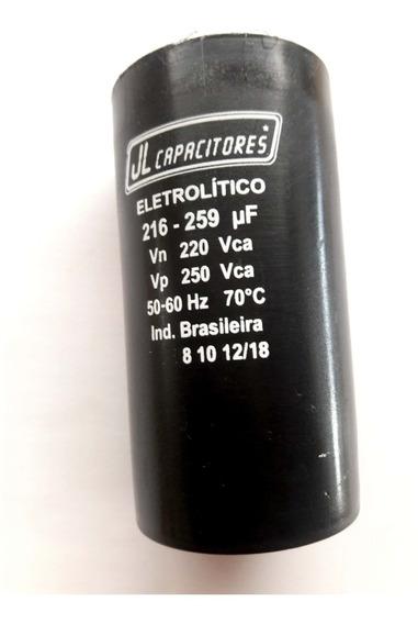 Capacitor Eletrolítico 216-259uf 220v