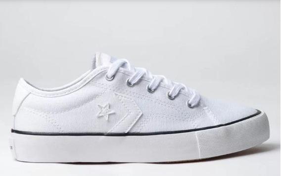 Tênis Converse Star Replay Ox Branco Branco Co02540002