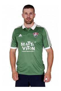 Nova Camisa Fluminense Verde 2015 adidas Original