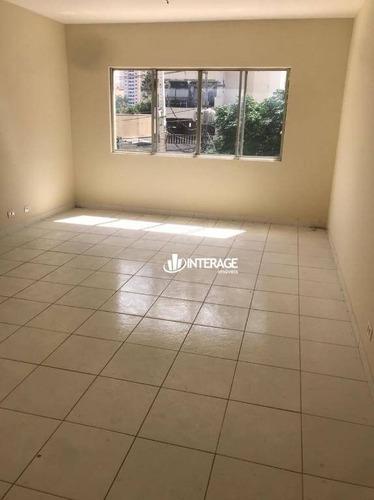 Apartamento Com 1 Dormitório Para Alugar, 55 M² Por R$ 900,00/mês - Batel - Curitiba/pr - Ap0540
