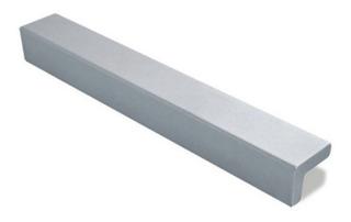 Manija Tirador Mueble Cocina Aluminio Anodizado Ma1 160 Emr
