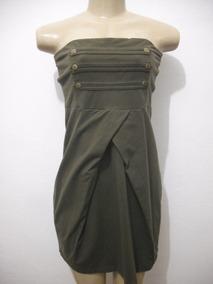fbc47237c538 Vestido Verde Militar Hering - Vestidos Femeninos com o Melhores ...