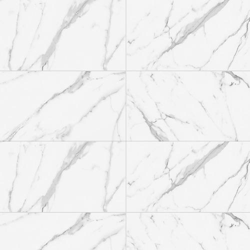 Porcelanato Símil Carrara Cava 58x117 (caja) - Cerro Negro