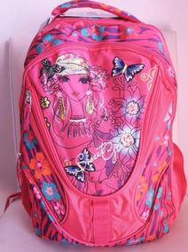 Mochila Infantil Sweet Girl Pink Floral