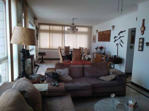 Imagem 1 de 18 de Apartamento À Venda, 189 M² Por R$ 850.000,00 - José Menino - Santos/sp - Ap0053