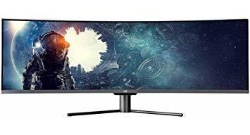 Monoprice 49 Inch Zero-g Curved Gaming Dfhd Monitor   Amd ®