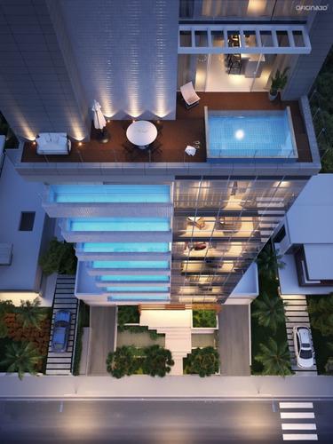 Imagem 1 de 9 de Apartamento Praia Brava Itaja㍠- 113631