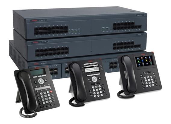 Central Telefonica Ip Avaya Ip Office 500