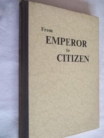 * Livro - From Emperor To Citizen - Psicologia