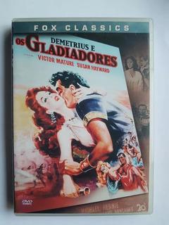 Dvd - Demetrius E Os Gladiadores - Original