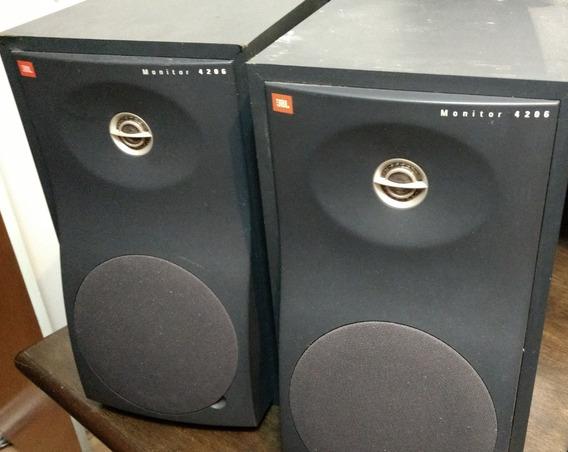 2 Caixas De Som Monitor De Estúdio Jbl 4200 Passiva