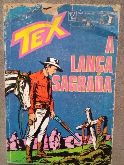 Tex N.°25 Março 1973 1.ªedição Vecchi Capa Com Desgaste