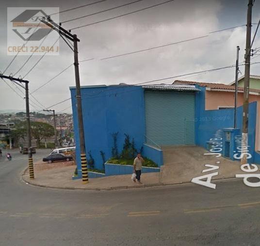 Galpão À Venda, 143 M² Por R$ 490.000,00 - Padroeira - Osasco/sp - Ga0027