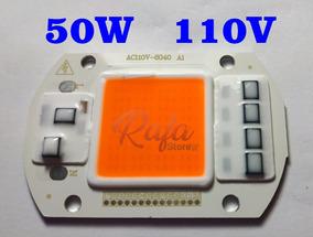 Super Power Led Cob 50w 110v Full Spectrum Grow 380-840nm