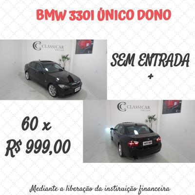 Bmw 330i 2005/2006 Blindada Único Dono