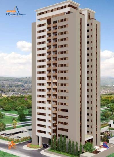 Apartamento Com 4 Dormitórios À Venda, 125 M² Por R$ 700.000 - Jundiaí - Anápolis/go - Ap0341