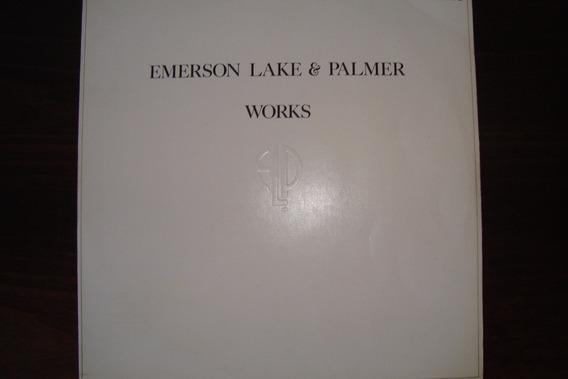 Disco Vinil Emerson, Lake & Palmer - Works Vol. 2 - 1977