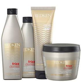 Redken Frizz Dismiss Sh + Cond + Masc + Rebel Tame
