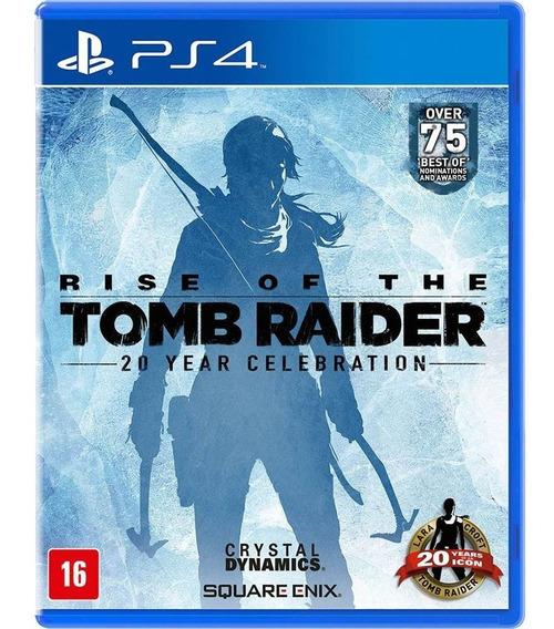 Rise Of The Tomb Raider Ps4 Game Fisico Lacrado Dublado Br