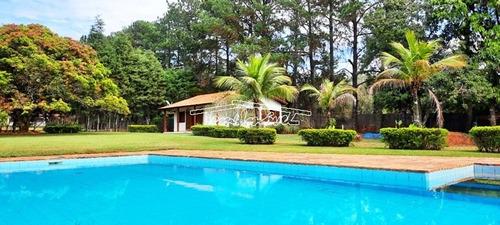 Chácara No Condomínio Estância Ubaitaba Em Boituva. 2 Casas, 5 Mil Metros, Piscina, Churrasqueira. - Ch00581 - 69431476