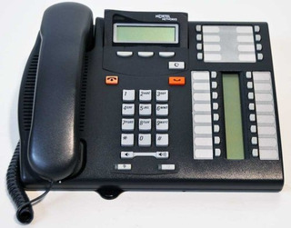 Nortel T7316 Telefono Carbon