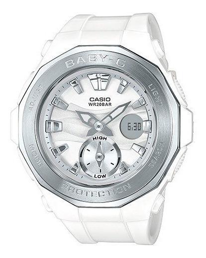Relógio Baby-g Bga-220-7a (branco)