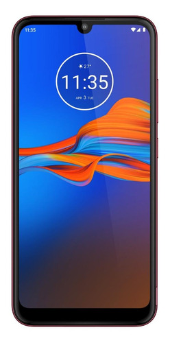 Moto E6s Dual SIM 64 GB Rich cranberry 4 GB RAM