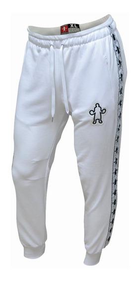 Pantalon Jogger Baller Brand Fit Torino Blanco