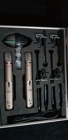 Kit De Microfones Akg Drum Set Big Ii
