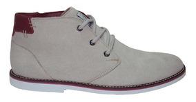 Bota Casual Gigante Couro Shoes Grand Camurça Frete Grátis