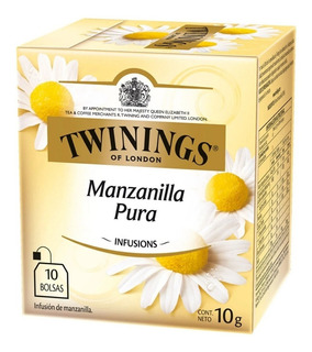 Te Twinings Te Ingles Caja X 10 Saquitos Te De Manzanilla