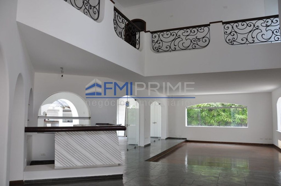 Casa Alto Padrão Para Locação - Vila Madalena - São Paulo - Fm188523