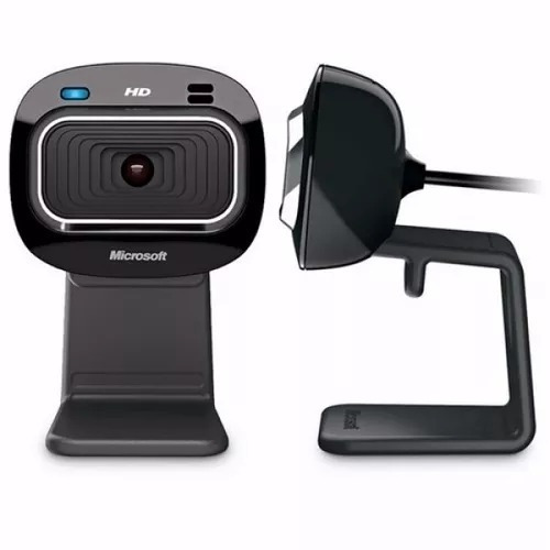 Câmera Webcam Microsoft Lifecam Hd 3000 1mp Hd 720p - Preto