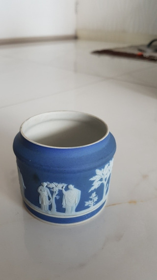 Porta Trecos Porcelana Wedgwood 8cm Diâmetro X 7cm Altura
