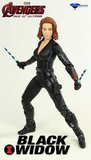 Black Widow: Age Of Ultron. Diamond Select (modificada).