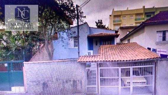 Terreno À Venda, 270 M² Por R$ 520.000,00 - Jardim Santo Antônio - Santo André/sp - Te0659