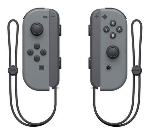 Imagen 1 de 1 de Set de control joystick inalámbrico Nintendo Switch Joy-Con (L)/(R) gris