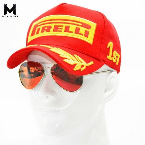 Novo Boné Original Pirelli Podium F1 2018 - Pronta Entrega
