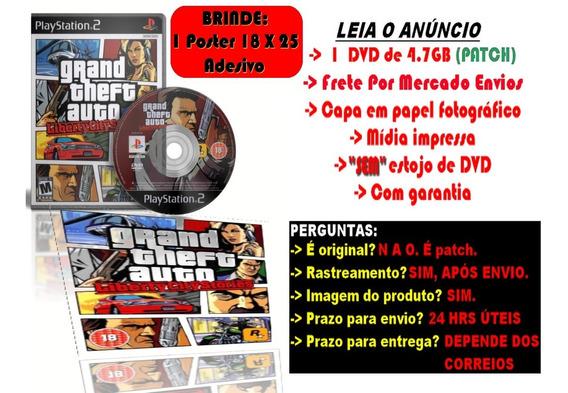 Grand Theft Auto: Liberty City Stories P/ps2 + Brinde Poster