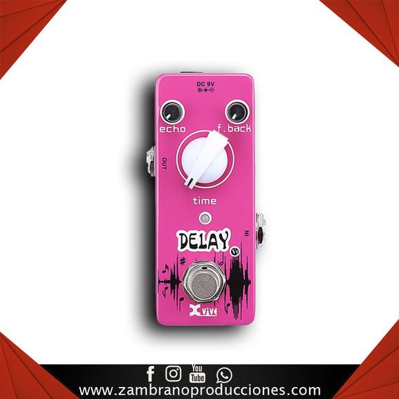 Pedal De Guitarra Xvive V5 Delay