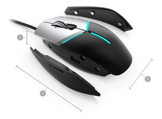 Mouse Alienware Elite Gamer- Aw959