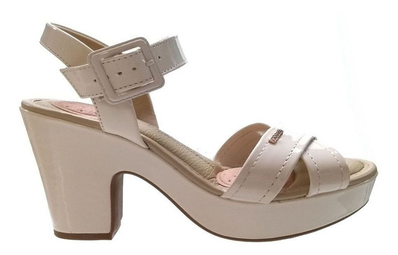 Sandália Modare Ultra Conforto Com Salto Grosso