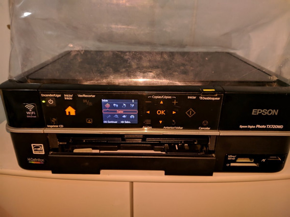 Duas Impressoras Epson Tx720wd Com A Cabeça P/ Troca